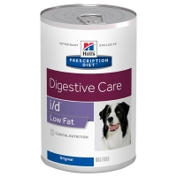 HILLS PD Canine I/D Low Fat Digestive Care (pies) 12 x 360g